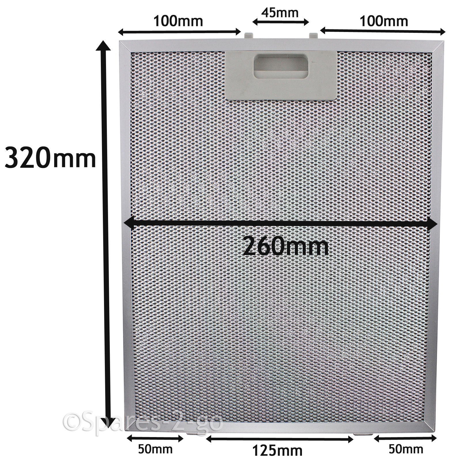 METAL MESH FILTER For BOSCH NEFF SIEMENS Cooker Hood Vent Fan 320 x ...