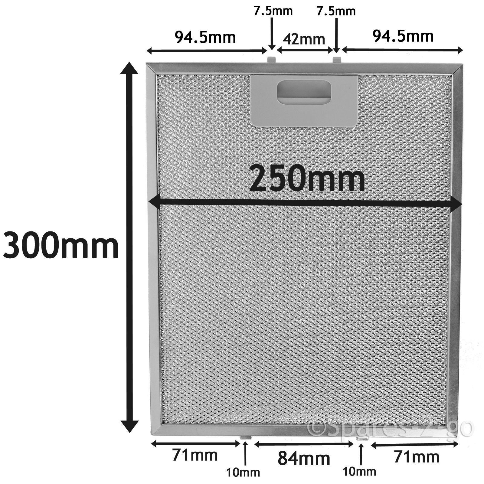 Grease Filters For Cooker Hoods ~ Silver grease filter for ikea cooker hood metal mesh vent