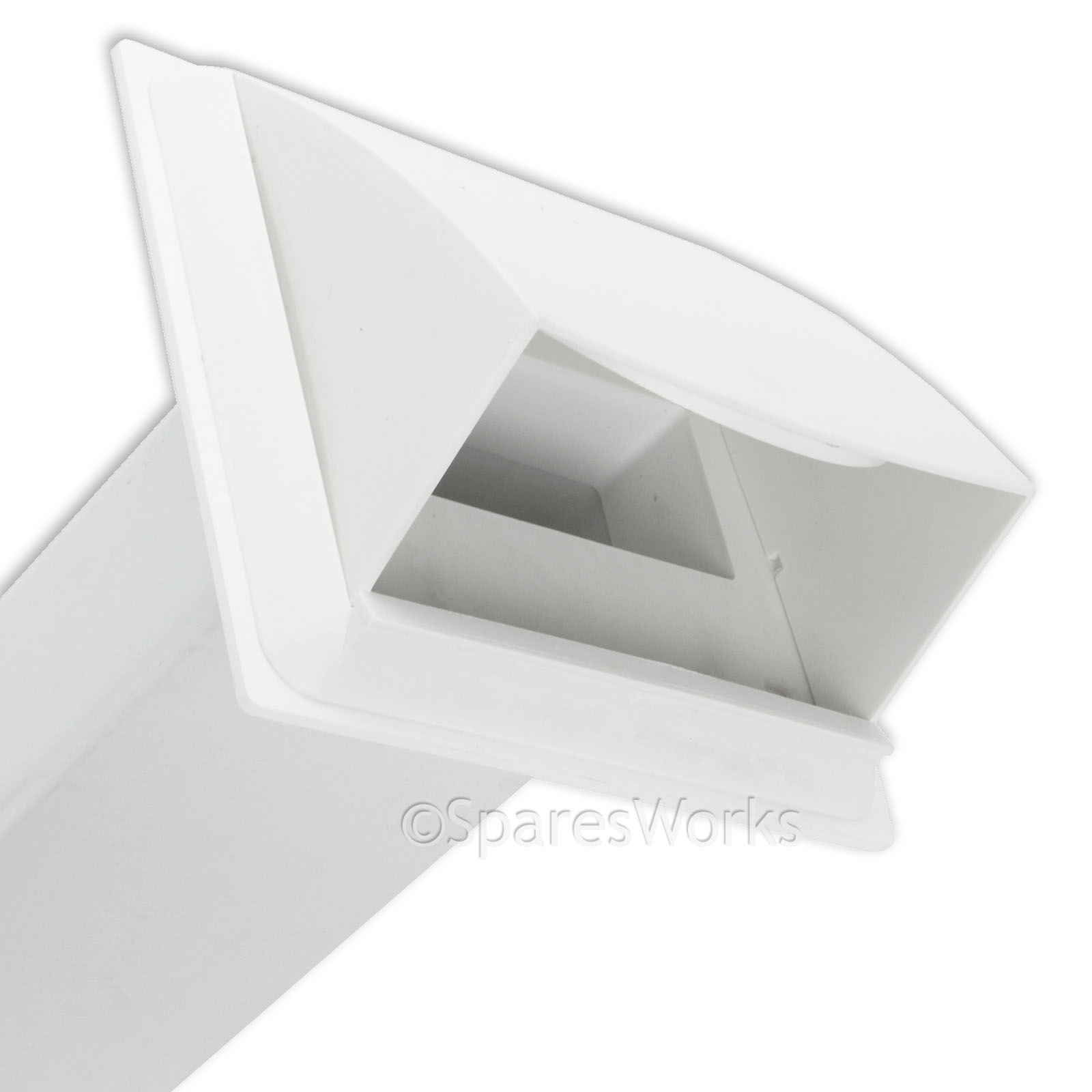 Venting kit for zanussi tumble dryer vent external wall for Window vent kit